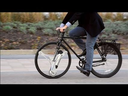 Uniknya Sepeda Yang Satu Ini, Roda Berputar Tapi Pelek Tak Ikut Berputar, Kok Bisa?