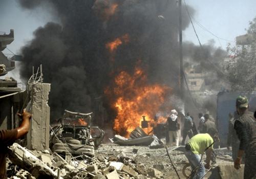 NGERI... Dua Bom Meledak... 50 Orang Tewas, Kebanyakan Wanita dan Anak-anak