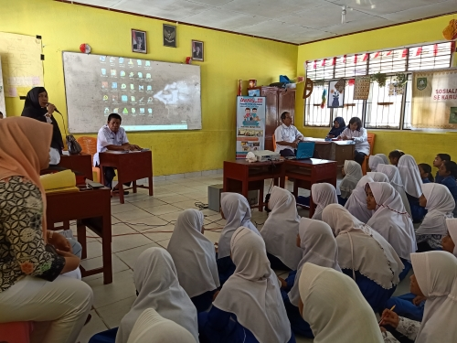 Tekan Angka Kasus Rabies di Mandau, Dinas Pertanian Bengkalis Taja Sosialisasi ke Sekolah