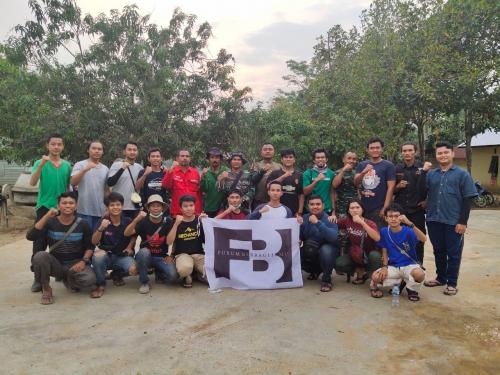 Lewat Aksi Relawan Peduli Karhutla, Komunitas FBII Turun Langsung Bantu Pemadaman di Lokasi Kebakaran