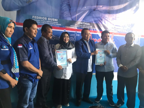 Maju di Pilkada Kuansing, Aherson Optimis Dapat Restu SBY
