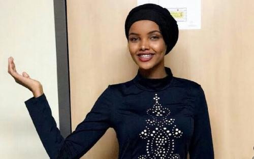 Halima Aden Jadi Muslimah Pertama Pakai Hijab pada Kontes Kecantikan di Amerika Serikat