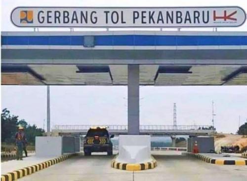 Pembangunan Jalan Tol Pekanbaru - Dumai Ditargetkan Selesai Akhir 2019
