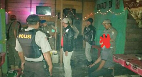 Enam Janda Pelayan Kafe Remang-remang di Langgam Terjaring Razia Satpol PP