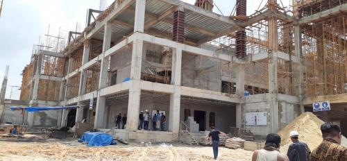 Tinjau Pembangunan Masjid Raya Provinsi, Waka DPRD Riau Kecewa Pengerjaannya Masih Tidak Maksimal