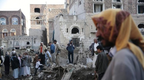 Pasukan Koalisi Saudi Serang Pasar, 13 Warga Sipil Yaman Tewas