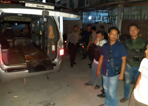 Sebuah Rumah di Sukajadi Pekanbaru Mengeluarkan Bau tak Sedap, Ternyata di Dalamnya Ada Mayat Pria Telah Membusuk