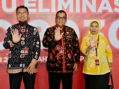 Wagubri Edy Nasution Ikut Bersama Presiden Jokowi Perangi TBC dalam Gerakan Bersama Eliminasi Tuberkolosis 2030
