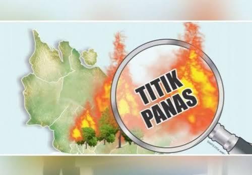 Tiga Kabupaten di Riau Terdeteksi Titik Panas