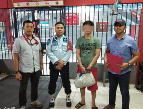 Dilaporkan Masyarakat Karena Jual Narkoba, Buronan Rutan Sialang Bungkuk tak Sengaja Ditangkap Ditnarkoba Polda Riau