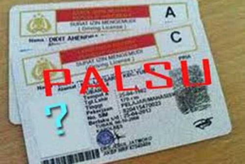 Sindikat Pembuat SIM Palsu di Riau Dibekuk Polisi