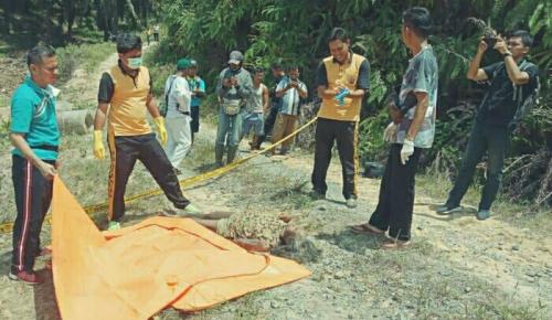 Sebelum Ditemukan Tak Bernyawa di Bukit Petai Pangkalan Lesung Pelalawan, Korban Tak Pulang Empat Hari