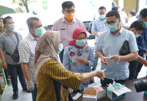 6.800 Rapid Test yang Sudah di Riau Diprioritaskan untuk Tenaga Medis dan ODP Covid-19