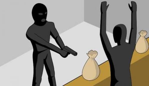 Polisi Buru Pelaku Penggondol Emas dan Uang Sebesar Rp 785 Juta yang Menggunakan Senjata Api di Rohil