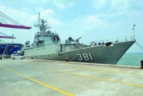 KRI Tjiptadi Ditabrak Saat Tangkap Kapal Pencuri Ikan Vietnam di Kepulauan Riau