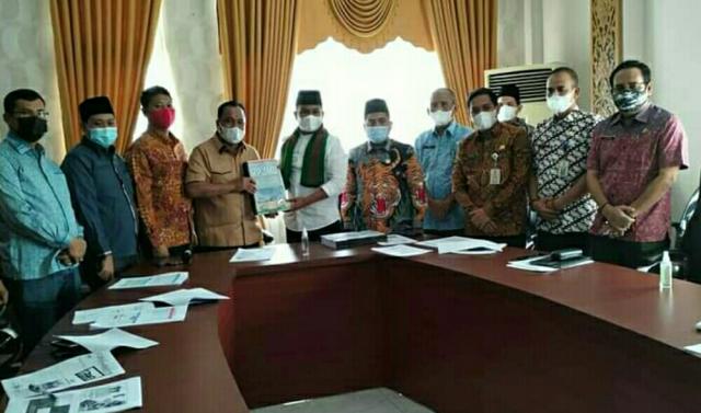 Bupati dan Ketua DPRD Pelalawan Teken Nota Kesepakatan Ranwal RPJMD 2021-2026