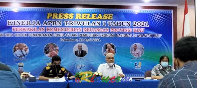 Tahun Ini, DJPb Riau Siapkan Dana Rp152,27 Miliar untuk THR ASN, TNI/Polri hingga Pensiunan