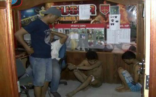 Polres Inhil Bekuk Dua Tersangka Curanmor, Satu Terpaksa Ditembak