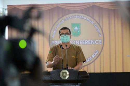 Dari 117 Kasus, 84 Pasien Positif Covid-19 di Riau Telah Dinyatakan Sembuh