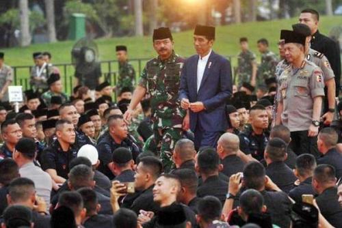 Jokowi Teken Perpres Jabatan Fungsional TNI, Ini Jenjang dan Pangkatnya