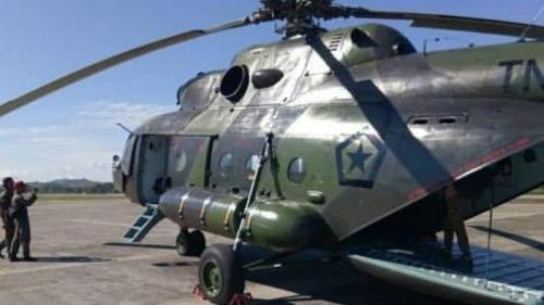 Heli MI-17 Hilang Kontak Masih Dicari, Ini Nama 12 Prajurit TNI yang Diangkutnya