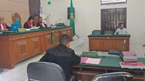 JPU Tuntut Ketua PPK Pangkalan Kuras Satu Bulan Penjara Kasus Pidana Pemilu di Pelalawan Riau