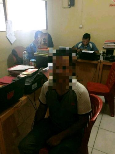 Seminggu Menghilang, Pencuri 2 Set Pintu Folding Gate di Pekanbaru Ini Diringkus Polisi di Medan
