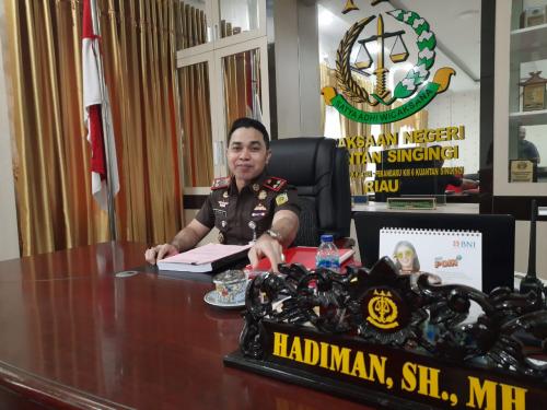 Minggu Depan, Berkas Perkara Lima Tersangka Korupsi Setda Kuansing Rp10,4 Miliar Dilimpahkan ke Pengadilan