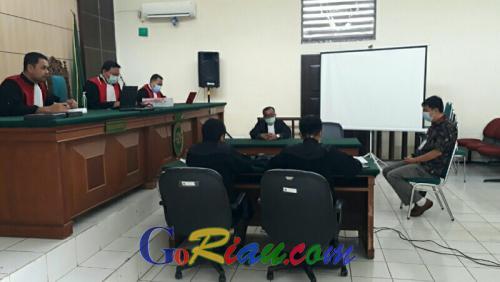 Jaksa Minta Hakim Tolak Eksepsi Terdakwa Karhutla PT Adei Plantation