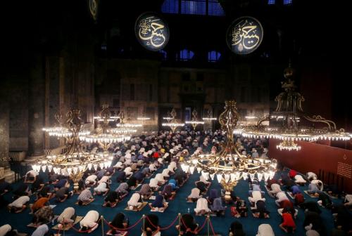 Pendeta Kristen Orthodoks Sebut Turki Jadikan Hagia Sophia Kembali Terhormat