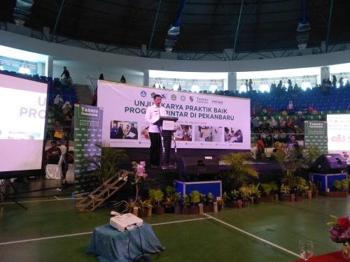 Tanoto Foundation Gelar Unjuk Karya Praktik Baik Program Pintar di Pekanbaru