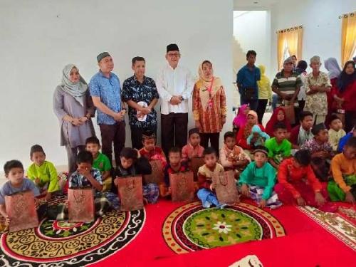 HUT ke-19 Rohil, 100 Anak Ikuti Khitan Massal Gratis