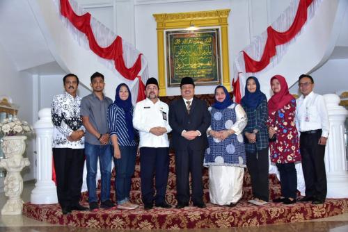 Bupati Amril Mukminin Terima Kunjungan Gerkatin Riau