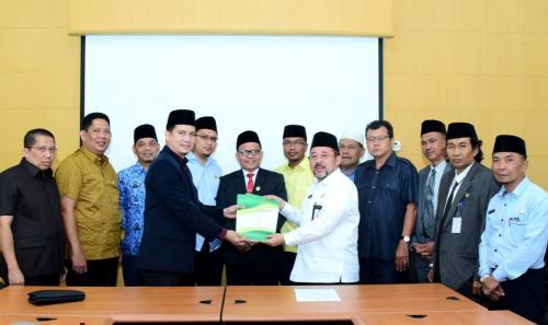 Bupati Bengkalis Serahkan RKUA RPPAS 2020, Banggar DPRD Langsung Bahas