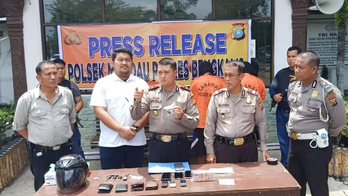 Pelaku Curat Modus Pecahkan Kaca Mobil di Duri Ditangkap Saat akan Jalankan Aksinya di Dumai