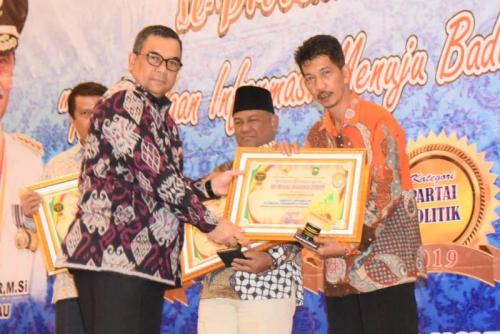 Bengkalis Terima KI Riau Award 2019