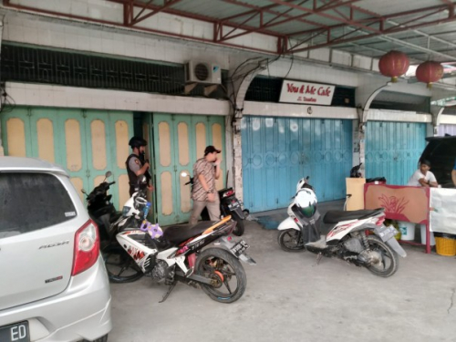 KPK Geledah Sekretariat Askindo Bengkalis