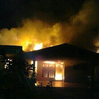 Kebakaran di Jalan Uka Garuda Sakti Pekanbaru, Sahril: Istri Saya Lihat Api Saat Hendak Sholat Subuh