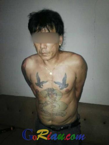 Pulang dari Malaysia, Ahok si Pemilik Prostitusi dan Bos Narkoba Kota Duri Diciduk BNN Riau