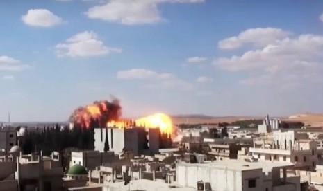 Pasukan Suriah Bom Rumah Sakit, 23 Pasien Warga Sipil Tewas