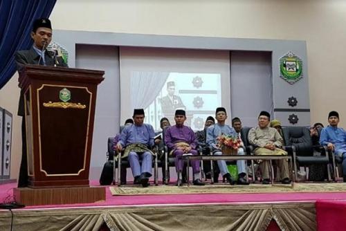 Ustaz Abdul Somad Dapat Gelar Profesor dari Universitas Islam Sultan Syarif Ali Brunei