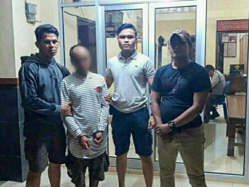 Pelaku Spesialis Bobol Rumah Diciduk Polsek Tembilahan saat Bersembunyi di Wisma