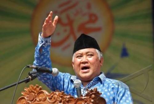 Din: Pertentangkan Pancasila dengan Khilafah Membuka Luka Lama dan Menyinggung Perasaan Umat Islam