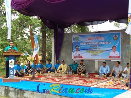 Jadi Pembicara Kewirausahaan di Kunto Darussalam Rohul, Ini Tips dari Wagubri Edy Nasution