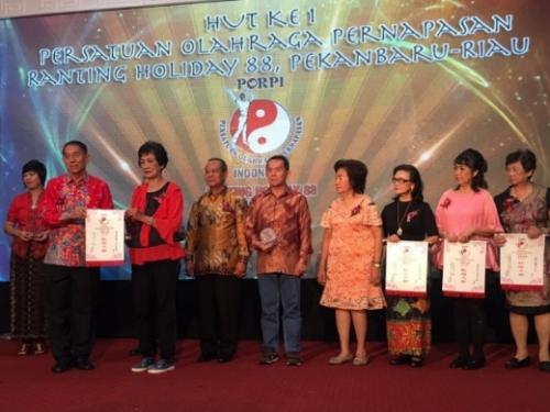 Dihadiri 500 Lebih Anggota dari Berbagai Kota dan Luar Negeri, HUT ke-1 PORPI Ranting Holiday 88 Pekanbaru Berlangsung Meriah