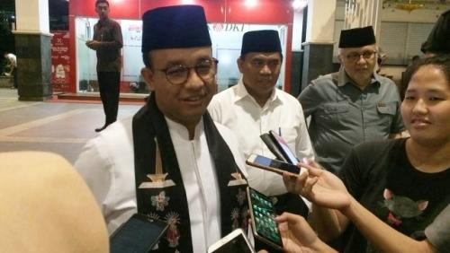 Anies Sebut Jakarta Milik Seluruh Rakyat Indonesia, Tak Ada Razia Pendatang Usai Lebaran
