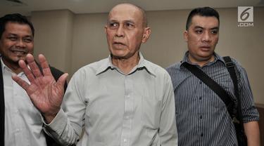 Mayjen Purnawirawan Kivlan Zein Ditahan di Rutan Guntur