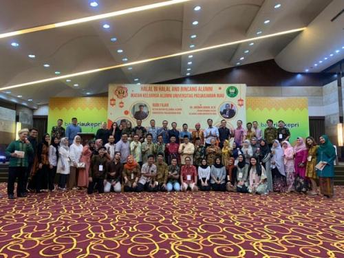 IKA Unpad Riau Jalin Komunikasi Silaturahmi