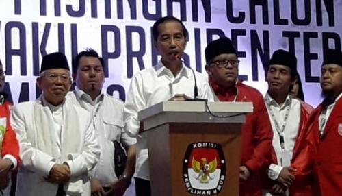 Jokowi: Saya dan KH Maruf Bahagia Bila Pak Prabowo dan Sandiaga Hadiri Pelantikan