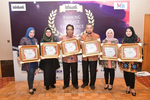 Bank Riau Kepri Raih Banking Service Excellence Awards 2019